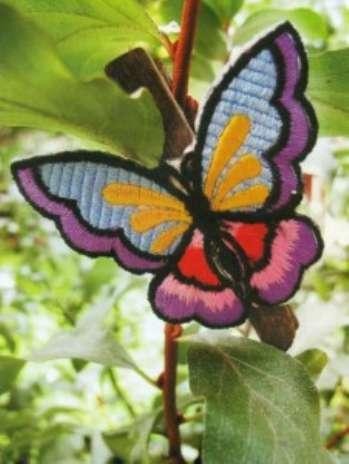 Украшение ландшафта – декоративные бабочки своими руками. Фото