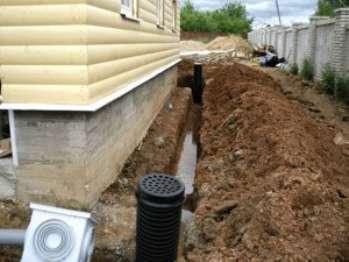 Дренажные системы садовых участков