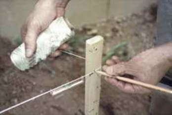 Каменная клумба своими руками, поэтапное фото