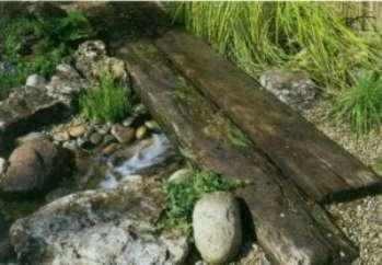 Какие можно строить мосты на участке