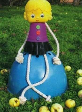 Ландшафтный изыск – садовые куклы своими руками