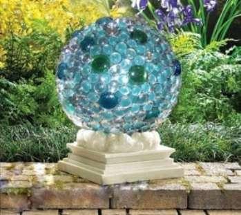 Садовая скульптура своими руками достойна восхищения