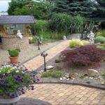 Интересные идеи дизайна двора частного дома.